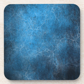 Blue And Black background Coaster