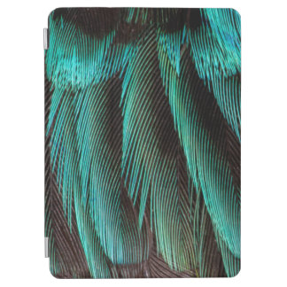 Blue And Black Feather Design iPad Air Cover