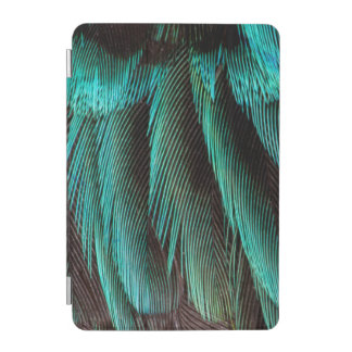 Blue And Black Feather Design iPad Mini Cover