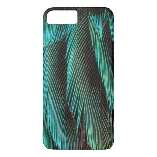 Blue And Black Feather Design iPhone 8 Plus/7 Plus Case