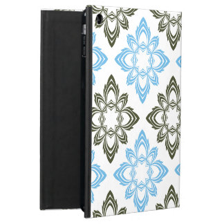 Blue and black pattern case for iPad air