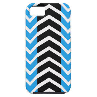 Blue and Black Whale Chevron iPhone 5 Covers