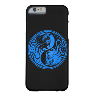 Blue and Black Yin Yang Cats Barely There iPhone 6 Case