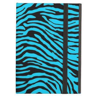 blue and black zebra stripe powis ipad  case
