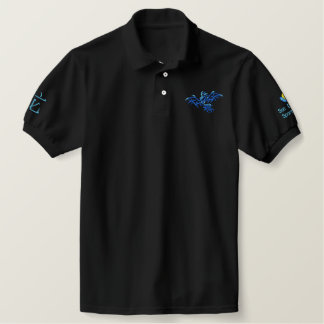 BLUE and BLUE DRAGON Embroidered Polo Shirt
