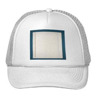 Blue and Cream Wood Panel Cap