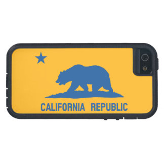 Blue and Gold California Republic Flag iPhone 5 Covers