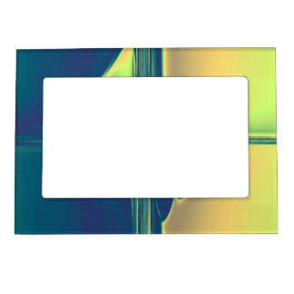 Blue and Gold Crossings Magnetic Frame