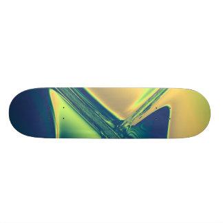 Blue and Gold Crossings Skate Board Decks