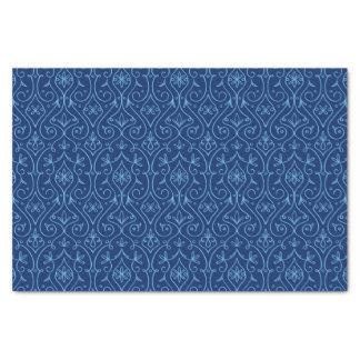 Blue and Golden Decorative Hanukkah Tissue Paper