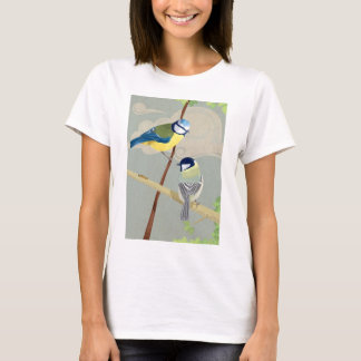 Blue and Great tit T-Shirt