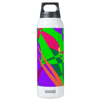 Blue and Green Abstract Composition 0.5 Litre Insulated SIGG Thermos Water Bottle