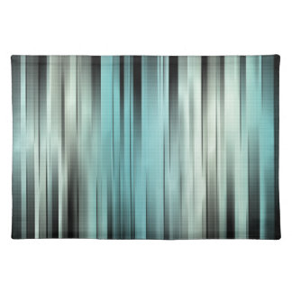 Blue And Green Abstract Placemat