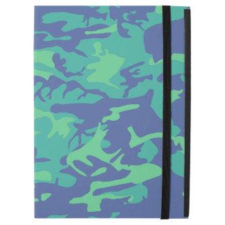 "Blue and Green Camo iPad Pro 12.9"" Case"