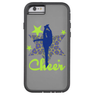 Blue and Green Cheerleader Tough Xtreme iPhone 6 Case