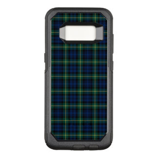 Blue and Green Clan Gordon Scottish Plaid OtterBox Commuter Samsung Galaxy S8 Case