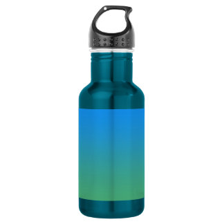 Blue And Green Gradient 532 Ml Water Bottle
