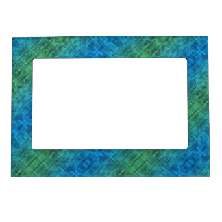 Blue And Green Gradient Magnetic Picture Frame