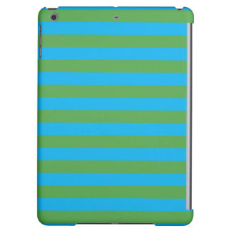 Blue and Green Horizontal Stripes