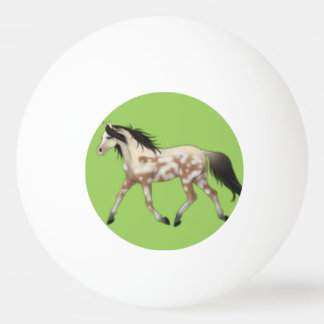 Blue and Green Pony Pong Ball