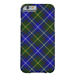 Blue and Green Scottish Clan MacNeil Tartan Barely There iPhone 6 Case