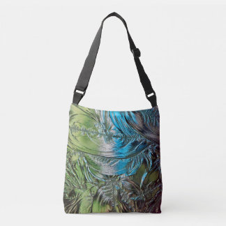 Blue and Green Stained Glass Tote