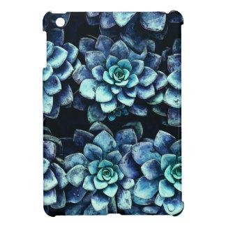 Blue And Green Succulent Plants iPad Mini Cover
