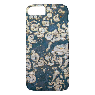 Blue and Grey Rust iPhone 7 Case
