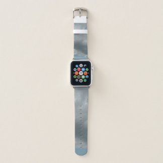 Blue And Grey Sky Apple Watch Band