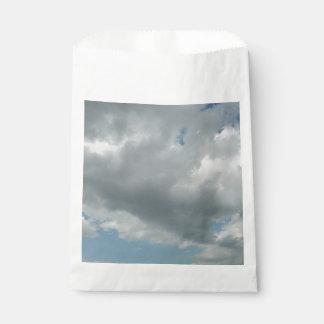 Blue And Grey Sky Favour Bag