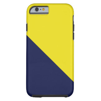 Blue and Maize iPhone 6 case Tough iPhone 6 Case