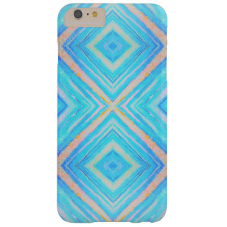 Blue and orange rectangles iphone barely there iPhone 6 plus case