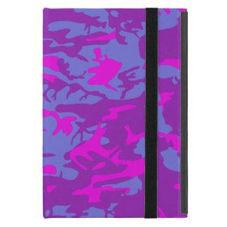 Blue and Pink Camo iPad Mini Cover