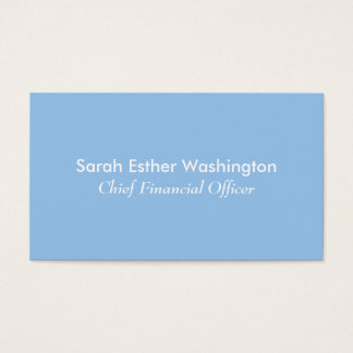 Blue and Pink Colors Business Card