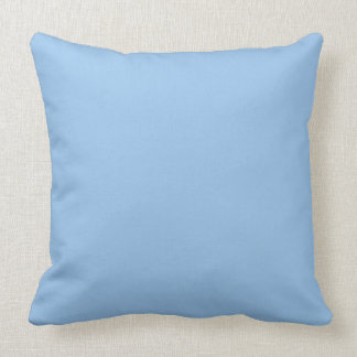 Blue and Pink Colors Throw Pillow