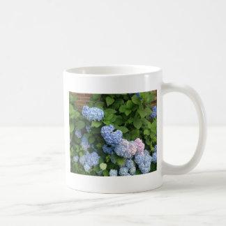 Blue And Pink Hydrangeas Coffee Mug