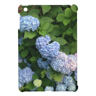 Blue And Pink Hydrangeas iPad Mini Covers