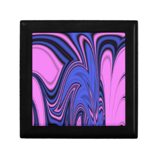 Blue and Pink Polar Art Gift Box