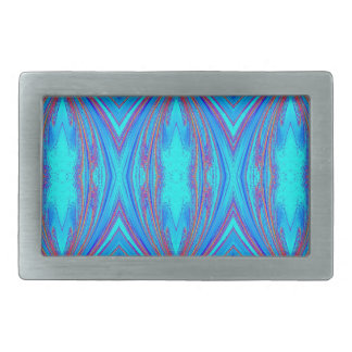 Blue And Pink Texture Belt Buckle
