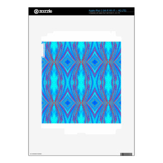 Blue And Pink Texture iPad 3 Skin