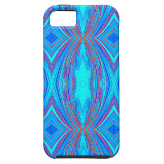 Blue And Pink Texture iPhone 5 Cover