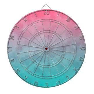 Blue and Pink Vintage Design Dart Board