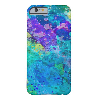 Blue and purple abstract funky cell case