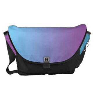 Blue And Purple Large Commuter Bags