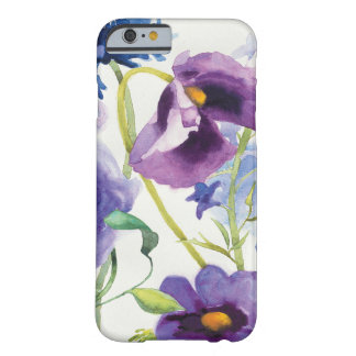 Blue and Purple Mixed Garden Barely There iPhone 6 Case