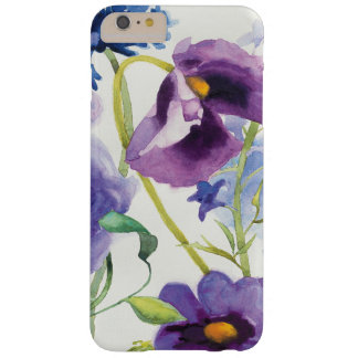 Blue and Purple Mixed Garden Barely There iPhone 6 Plus Case