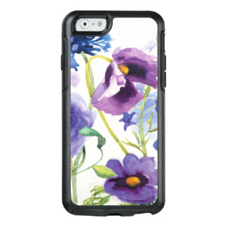 Blue and Purple Mixed Garden OtterBox iPhone 6/6s Case