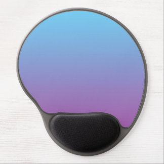 """Blue And Purple Ombre"" Gel Mouse Pad"