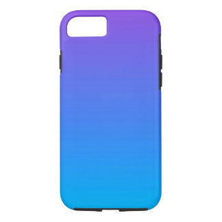Blue and Purple Ombre iPhone 8/7 Phone Case