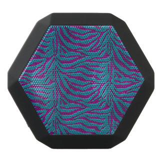 Blue and Purple Zebra Animal Print Speaker